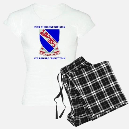 DUI- 892ND AIRBORNE-4BCT WI Pajamas