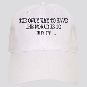 savetheworldtshirt copy Cap