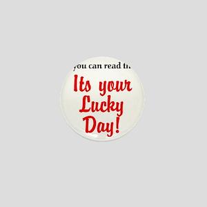lucky day Mini Button