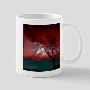 vision tree red Mugs