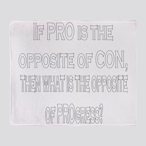 ProCon8x1010x10ShirtDark Throw Blanket