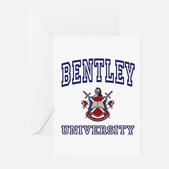 BENTLEY University Greeting Cards (Pk of 10)