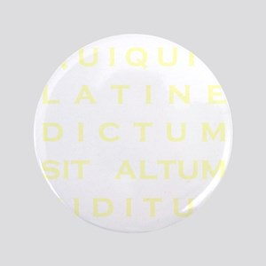 """Anything sounds profound in Latin - Pa 3.5"""" Button"""