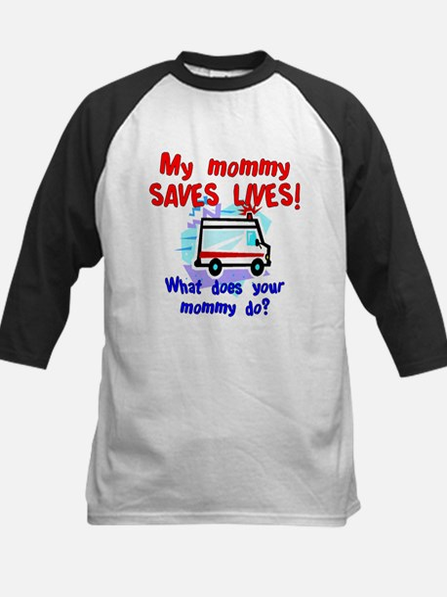 mommy saves lives ambulance.jpg Baseball Jersey