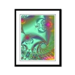 Jeweled Staircase, Kaleidoscope Framed Panel Print