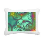 Jeweled Staircase Rectangular Canvas Pillow