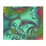 Jeweled Staircase Abstract Throw Blanket