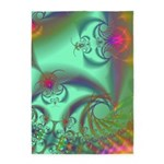 Jeweled Staircase, Kaleidoscope 5'x7'Area Rug