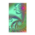 Jeweled Staircase, Kaleidoscope 35x21 Wall Decal