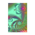 Jeweled Staircase, Kaleidoscope Mini Poster Print