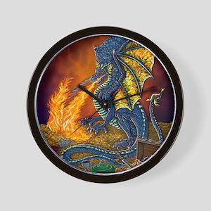 Dragons_Treasure_10x10 Wall Clock