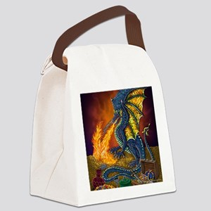 Dragons_Treasure_10x10 Canvas Lunch Bag
