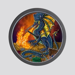 Dragons_Treasure_16x20 Wall Clock