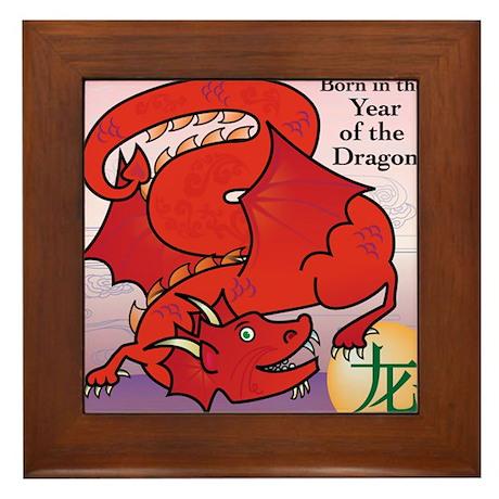DragonTshirts Framed Tile