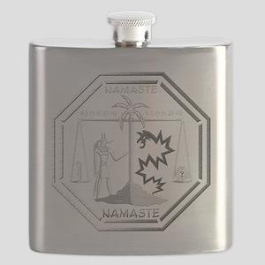 Smoke Monster and Anubis Flask