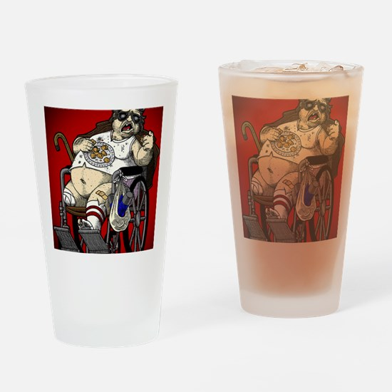 Plinkett Red Small Drinking Glass