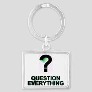 QUESTION EVERYTING Landscape Keychain