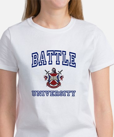 BATTLE University Women's T-Shirt