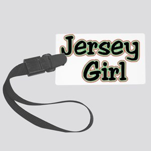 jersey girl Large Luggage Tag