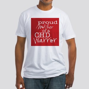 proud mother copy Fitted T-Shirt