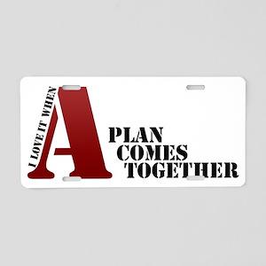 A-Team Aluminum License Plate