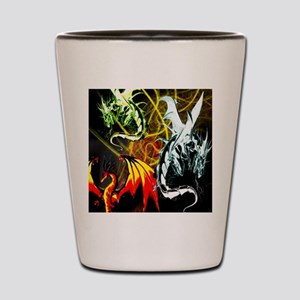Dragons - Inner Rage Shot Glass