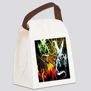Dragons - Inner Rage Canvas Lunch Bag