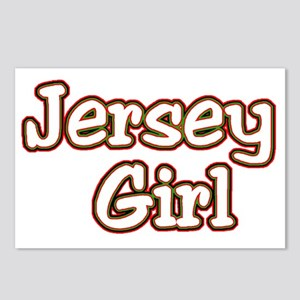 2-jersey girlD Postcards (Package of 8)