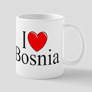 """I Love Bosnia"" Mug"