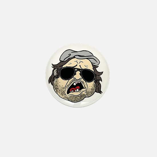 Plinkett Head Mini Button