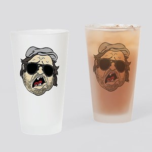 Plinkett Head Drinking Glass