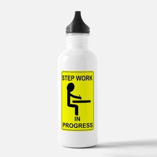 StepWorkInProgressSmal Water Bottle