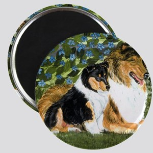 Rough Collie Mom Magnet