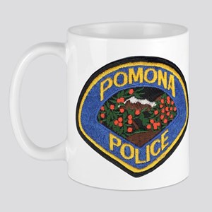 Pomona Police Mug