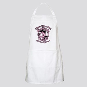 bjj fighter(girl) Apron