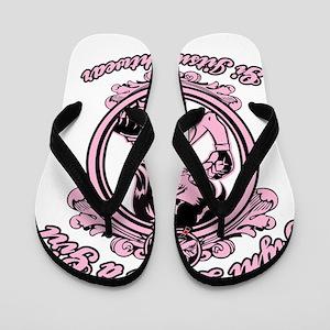 bjj fighter(girl) Flip Flops