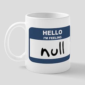 Feeling null Mug