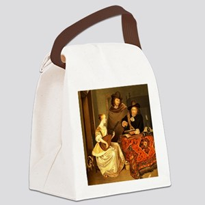 The Music Lesson by Banks  Co Edi Canvas Lunch Bag