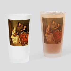 The Music Lesson by Banks  Co Edinb Drinking Glass