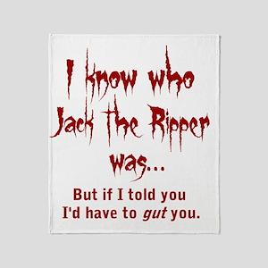jack Throw Blanket