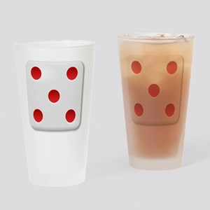 5 Dice Roll Drinking Glass