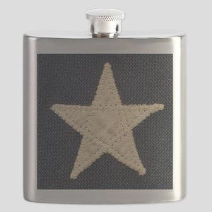 Flag Star Flask