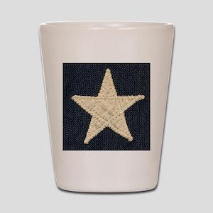 Flag Star Shot Glass