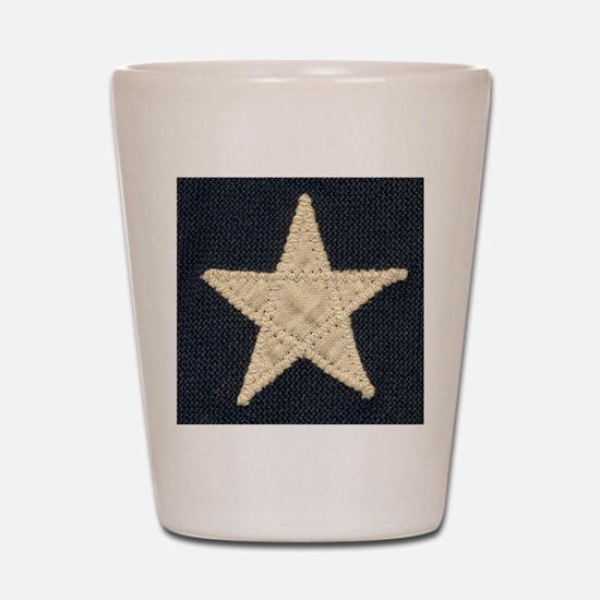Flag Star Shot Glass