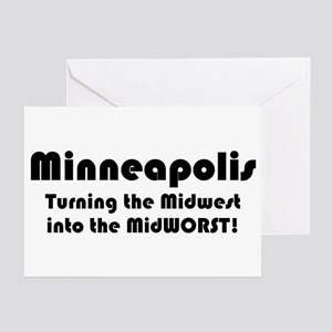MidWORST Greeting Cards (Pk of 10)