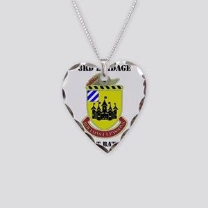 DUI - 3rd BDE Support BN Necklace Heart Charm