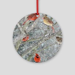 Cr4.25x5.5SF Round Ornament