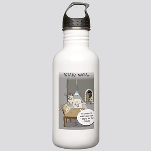 Potato Mafia Funny Gre Stainless Water Bottle 1.0L