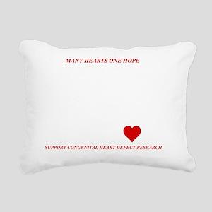 chdresearch Rectangular Canvas Pillow