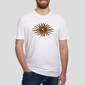 Sun Mandala Fitted T-shirt